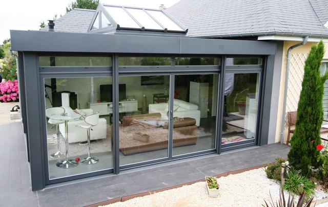 alu glass fabricant de v randa et de menuiseries aluminium. Black Bedroom Furniture Sets. Home Design Ideas