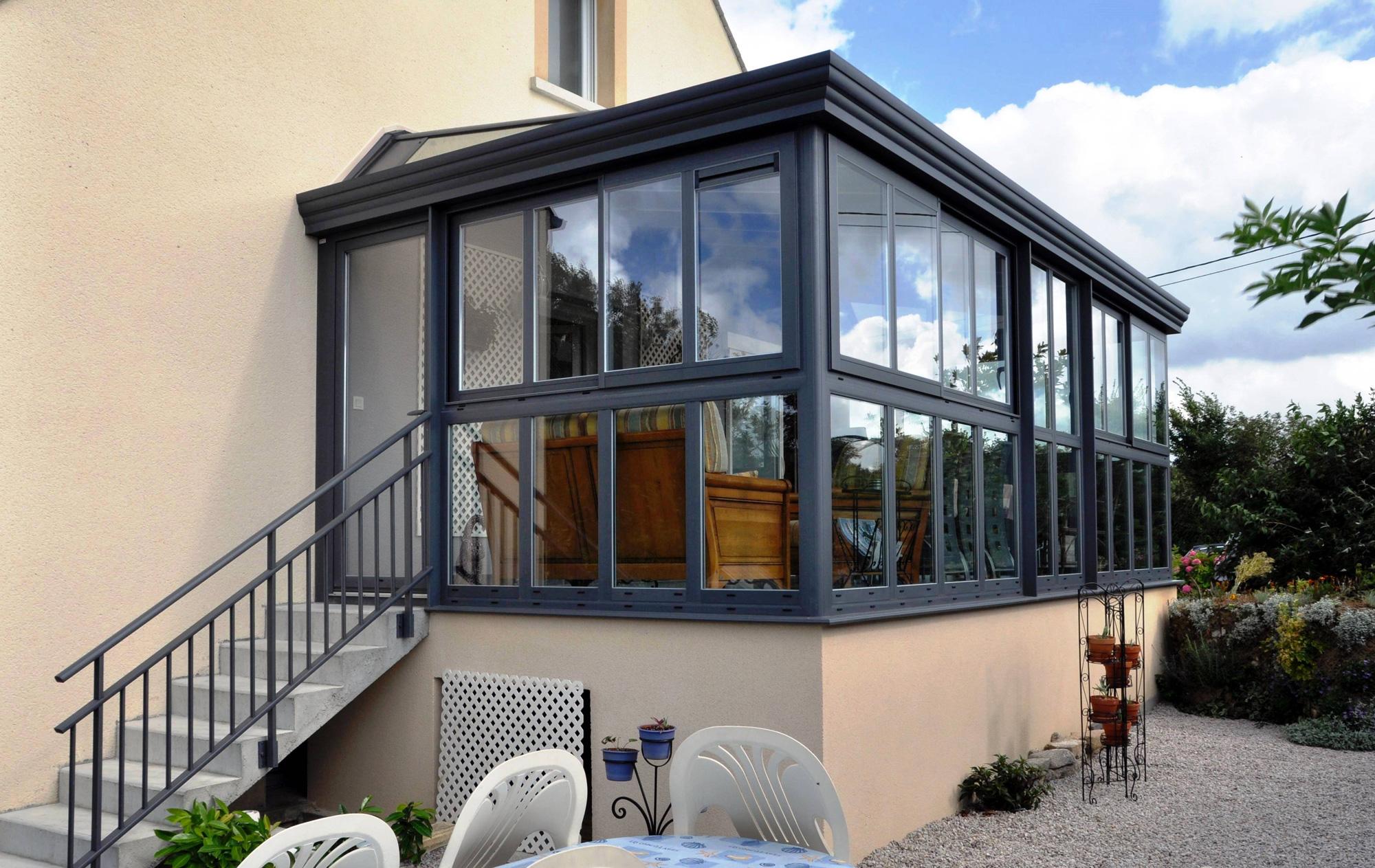 Alu Glass Fabricant De Veranda Et De Menuiseries Aluminium